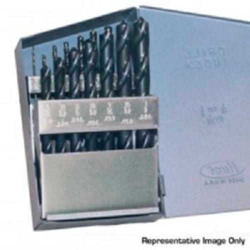 Champion 15 Pc 705 Black HSS Drill Bit Set in Metal Case