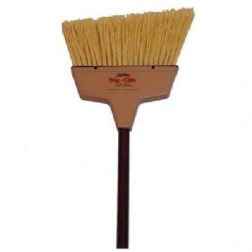 Big-Qik Angle Broom - Tan w/Brown Handle, Q72150