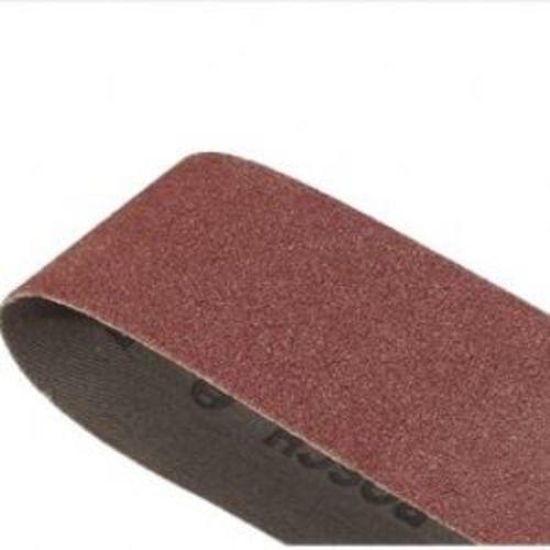 3''x24'' Sanding Belt, Red, 80