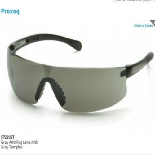 Pyramex Gray Anti-Fog Lens with Gray Temples
