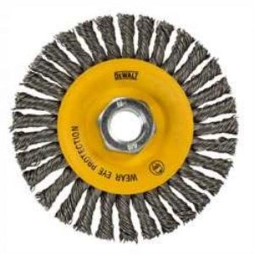 Dewalt 4 in. x 0.02 in. Stainless Stringer Wire Wheel