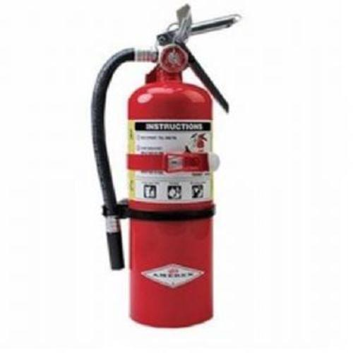 5 lb ABC Dry Chemical Fire Extinguisher (2A:10B:C), Multi-Purpose