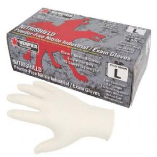 6010W - Nitri-Med, White, Medical Grade, Powder Free, 4 mil - Large, 100 Gloves