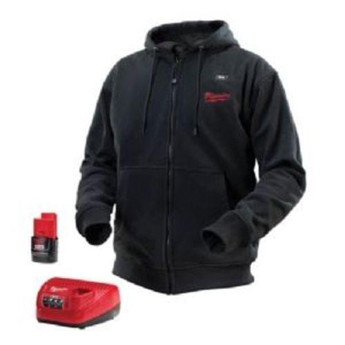 M12 Cordless Black Heated Hoodie Kit (XLarge)