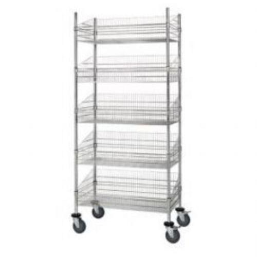 5 Shelf Basket Cart