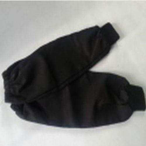 """Black Twill 18 """" Wrist Cuff Sleeves, Q44096"""