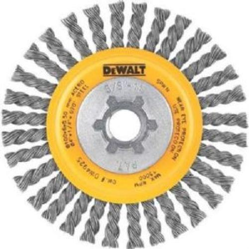 4''x5/8''-11 Stainless Steel Stringer Wire Wheel