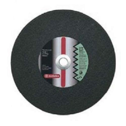 Metabo 12''X1/8''X20mm, Type 1, A24N Aluminum Oxide Cutting Wheel