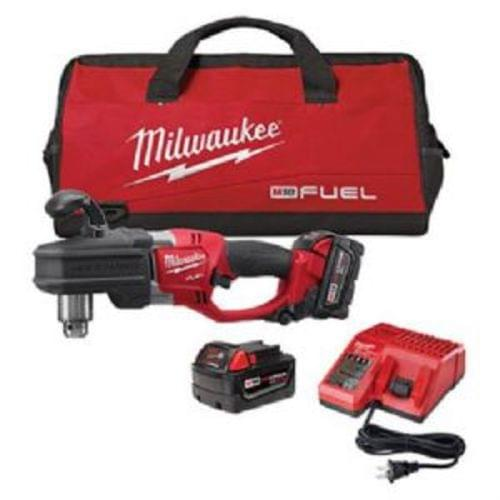 """M18 Fuel Hole Hawg 1/2 """" Right Angle Drill Kit"""