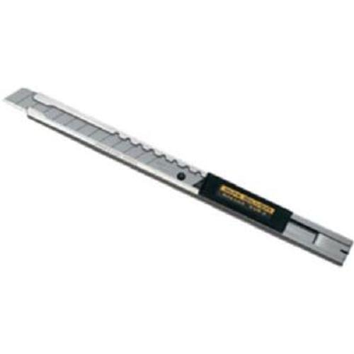 Olfa SVR-2 Stainless Steel Body Auto-Lock Utility Knife with Blade Snapper