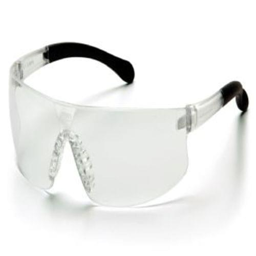 Pyramex Industrial Eye Proctection Clear Anti-Fog Lens with Clear Temples
