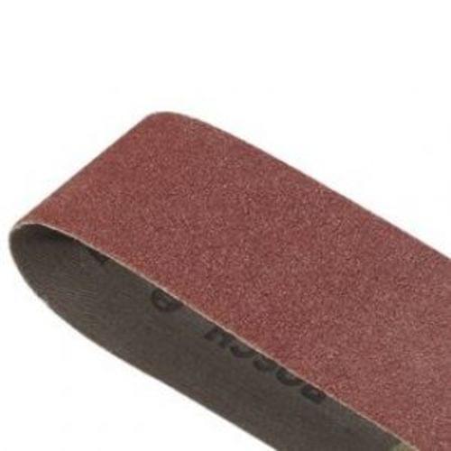 3''x21'' Sanding Belt, Red, 40