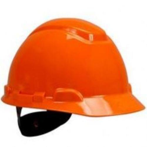 3M Hard Hat H-706R, Orange 4-Point Ratchet Suspension