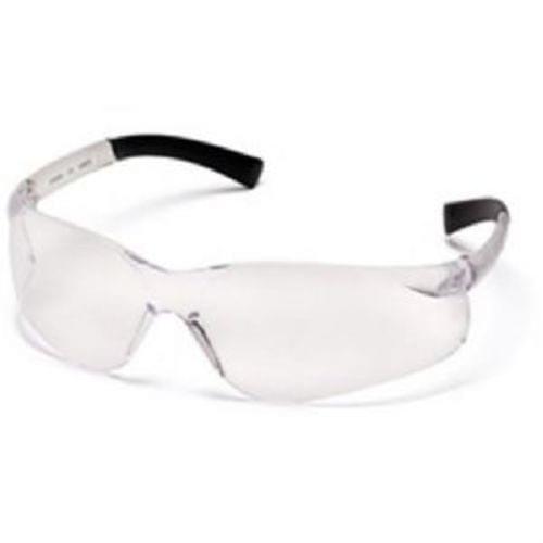 Pyramex Ztek Safety Glasses, Clear Lens, Clear Frame
