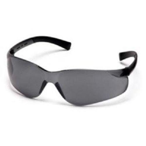 Pyramex Ztek Safety Glasses, Gray Lens, Gray Frame