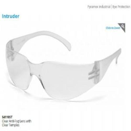 Pyramex Clear Anti-Fog Lens with Clear Temples