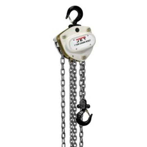 L-100-100WO-20, 1-TON HAND CHAIN HOIST WITH 20 ' LIFT   OVERLOAD PROTECTION