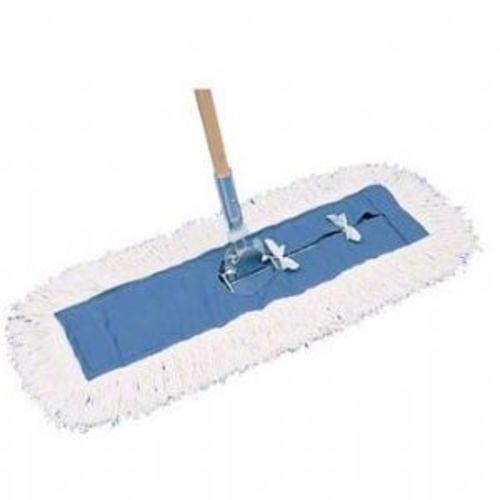 PRO-LINK Standard Launderable Dust Mop-5 x 36, Blue/White - 12 in a Case