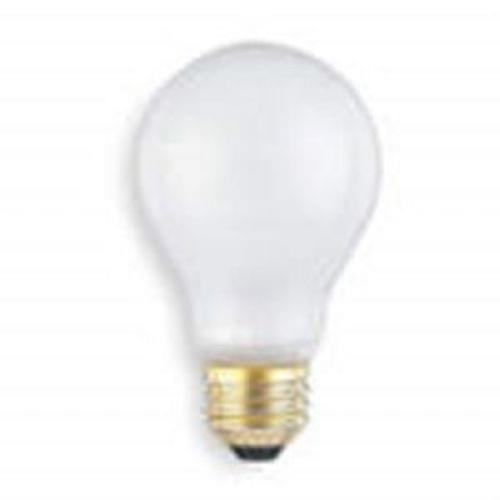 75 Watt Rough Service Frosted Incandescent Bulb, 125V