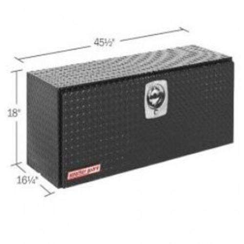 Weather Guard Super Hi-Side Box, Aluminum, 11.8 cu ft