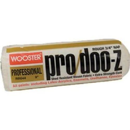 "Wooster RR644 9 "" Pro/Doo-Z Roller Cover 3/4 "" Nap (11809)"