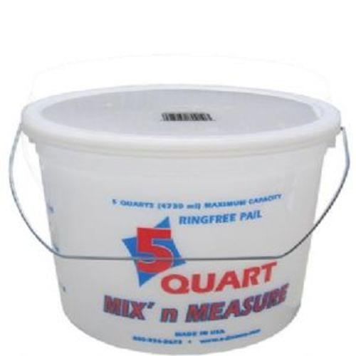 Encore 05166 5 Qt Ringfree Pail with Wire Handle