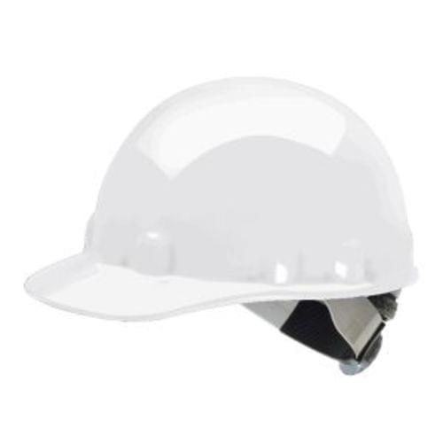 FiIBRE METAL E2RW Hard Hat , Ratchet Suspension - White