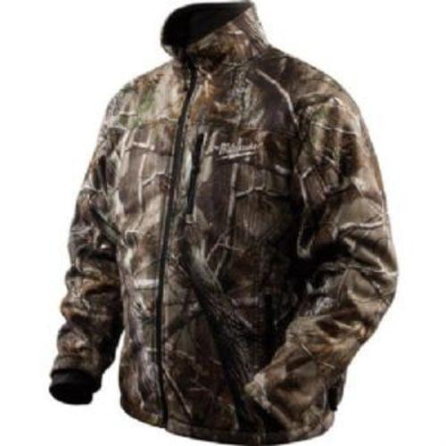 M12 Cordless Realtree Xtra Camo 3-in-1 Heated Jacket Only (Large)