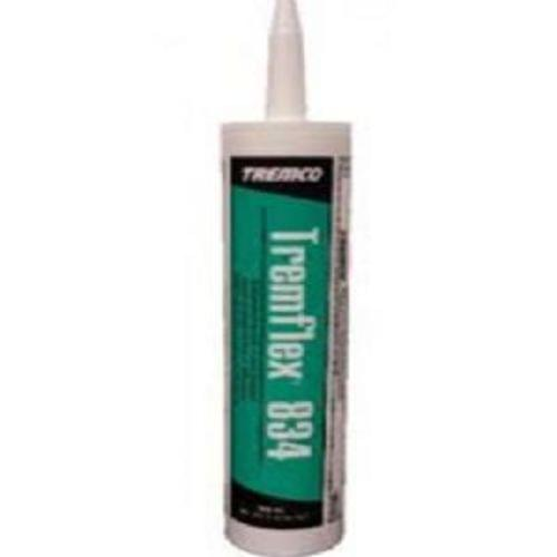 Tremco Tremflex 834 Siliconized Acrylic Latex Sealant, White, 10.1oz. Cartridge