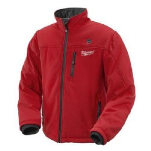 M12 Cordless Lthium-Ion Red Heated Jacket (Only) (XLarge)