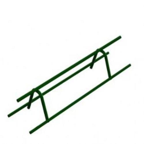 """Dayton Superior CONTINUOUS HIGH CHAIR UPPER EPOXY COATED   BUTT WELD (CLASS 1A) 3-1/4 """" X 5 '"""