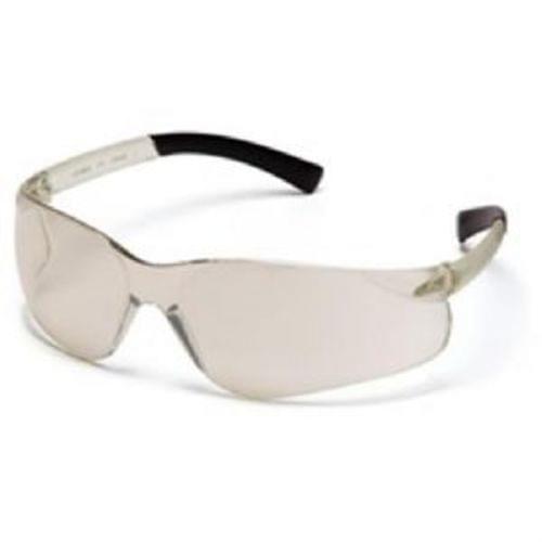 Pyramex Ztek Safety Glasses, Indoor/Outdoor Mirror Lens, Indoor/Outdoor Mirror Frame