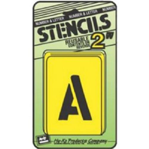 """Water Resistant Hy-Ko ST-2 Number /& Letter Stencils Reusable 2/"""""""