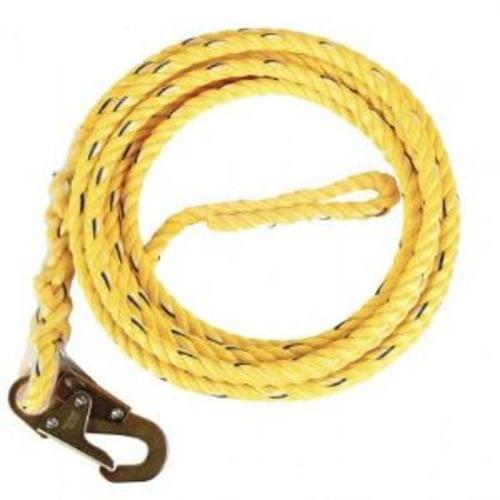 25 #39; POLY STEEL ROPE WITH SNAP HOOK END, 5000 lb Breaking Strength