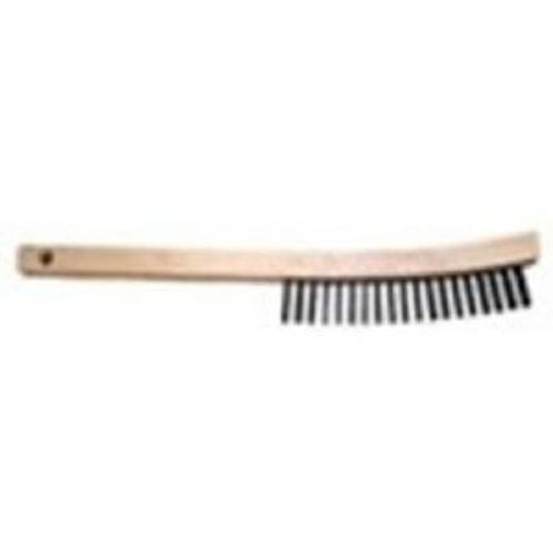 Flexovit C1950 Cleaning  38; Conditioning Scratch Brush with Curved Handle