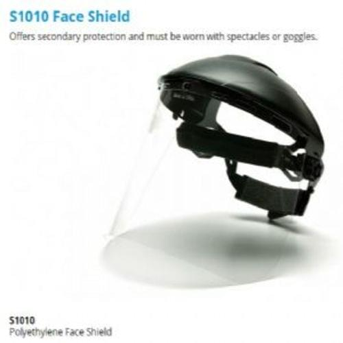 Polyethylene Face Shield