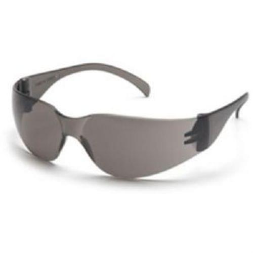 Pyramex Intruder Safety Glasses - Gray Lens, Gray Frame