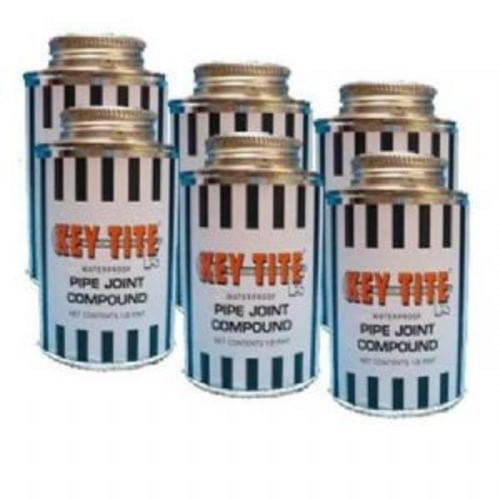 Key-Tite Pipe Joint Compound, 1/2 Pint Brush Top Can
