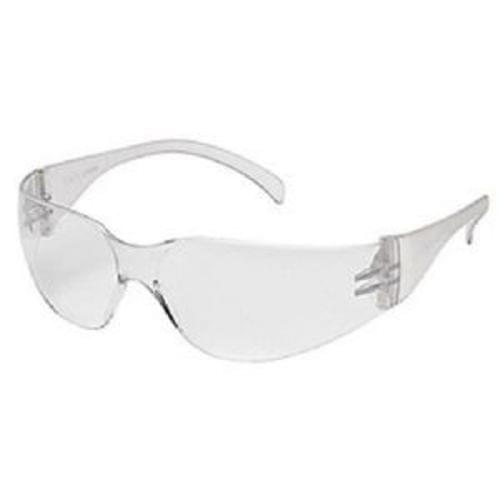 Pyramex Intruder Safety Glasses - Clear Lens, Clear Frame
