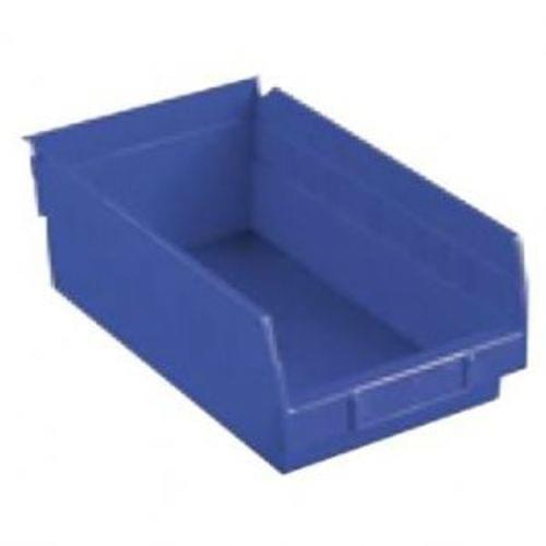 8-3/8 x 17-7/8 x 4 ' ' - Blue Economy Shelf Bin