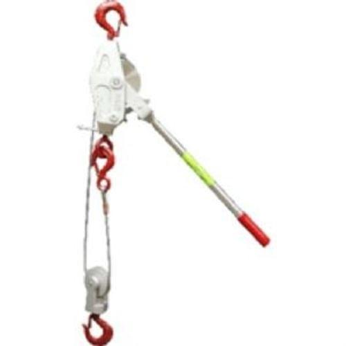 1-1/8 Ton Cable Ratchet Winch Hoist, 15 ' Cable