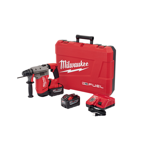 "M18 FUEL 1-1/8 "" SDS Plus Rotary Hammer High Demand Kit"