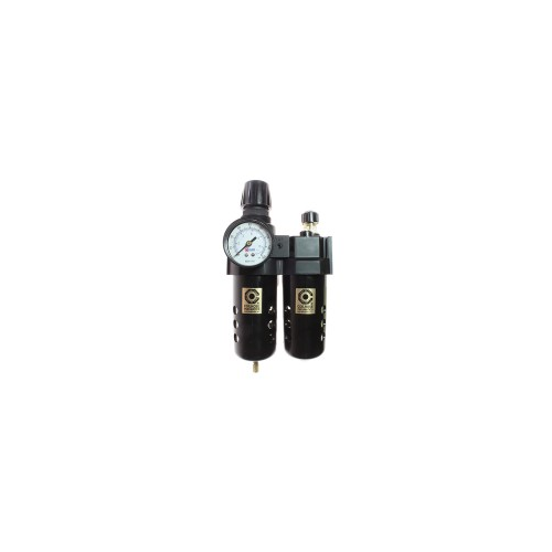 "27 Series 1/2"" Integral Filter/Regulator + Lubricator, Gauge"