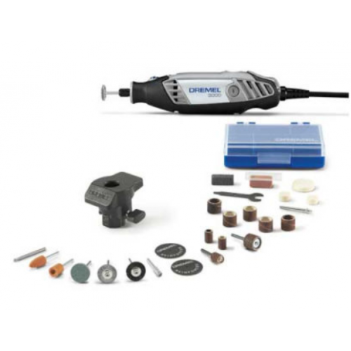 Dremel 3000-1/24 3000-Series Variable Speed Rotary Tool Kit w/ 1 Attachment & 24 Accessories