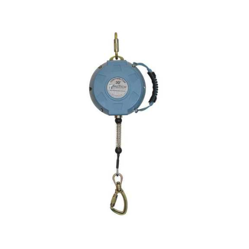 Fall Tech 30 ft.L 310 lb. Weight Capacity Blue Self Retracting Lifeline