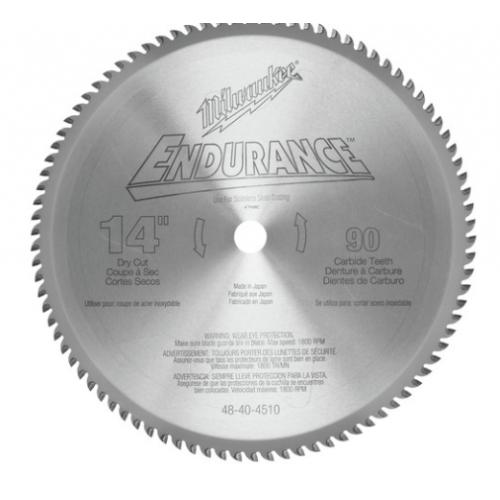 Milwaukee 48-40-4510 14 in. Circular Saw Blade (90 Tooth)