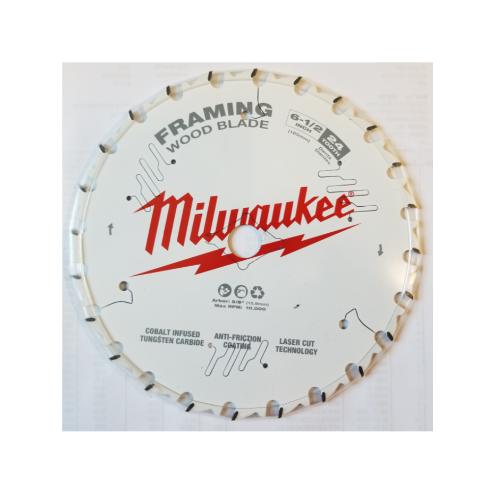 """Milwaukee 48-41-0620 6-1/2"""" 24T Framing Circular Saw Blade"""