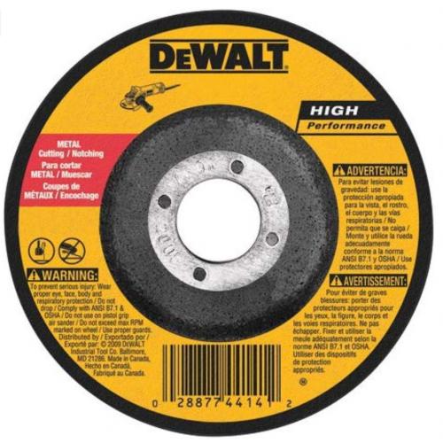 DEWALT DW8754 Abrasive Wheel, 6-Inch X 3/32-Inch X 7/8-Inch