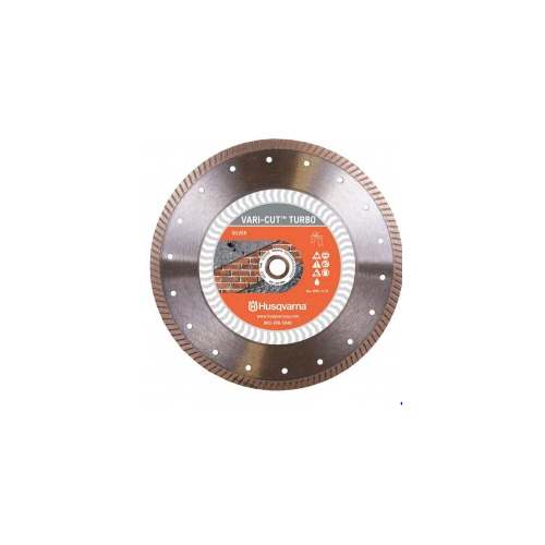 "Husqvarna 579828101 Vari-cut Turbo, 7"" (178) X .085 Smooth Cutting In Brick, Concrete"