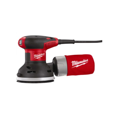 "Milwaukee 5 "" Random Orbit Palm Sander with Carrying Case"